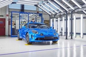 Alpine A110: la production débute à Dieppe