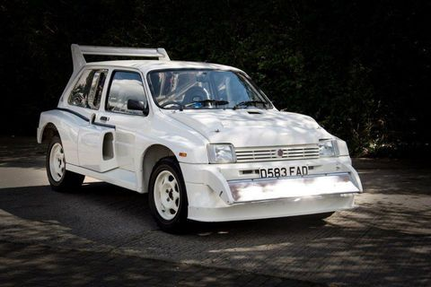 Silverstone Auctions:  MG Metro 6R4 1985