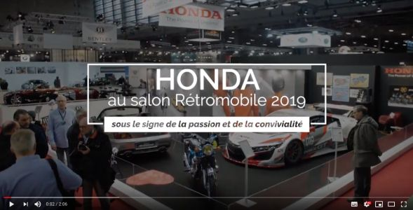 VIDEO:  RETROMOBILE 2019 !