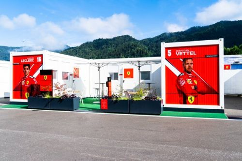 Austrian GP: Thursday's build-up in pictures