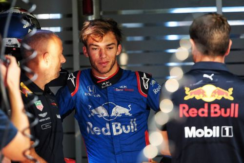 Gasly seeks answer to Toro Rosso's struggles in Singapore