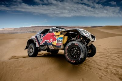 Silk Way Rally, l'erreur de Loeb