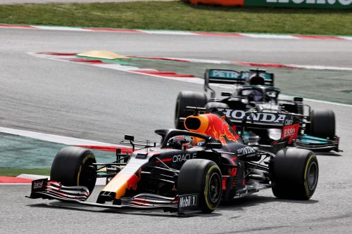 Hamilton 'learned a lot' about Verstappen in Spanish GP