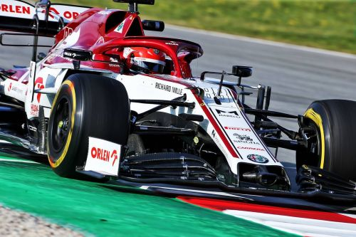 Kubica on duty again in FP1 session with Alfa Romeo