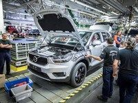 Volvo lance la production du XC40 en Belgique