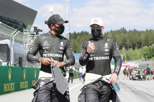 Bottas delighted to 'unlock potential' and claim pole