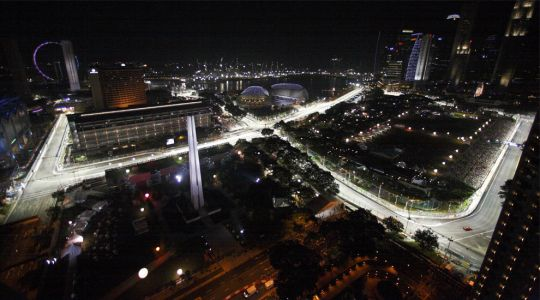 Formule 1:  Suivez le Grand Prix de Singapour en direct live-text !