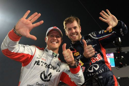 Mick Schumacher and Sebastian Vettel team up for ROC Mexico!