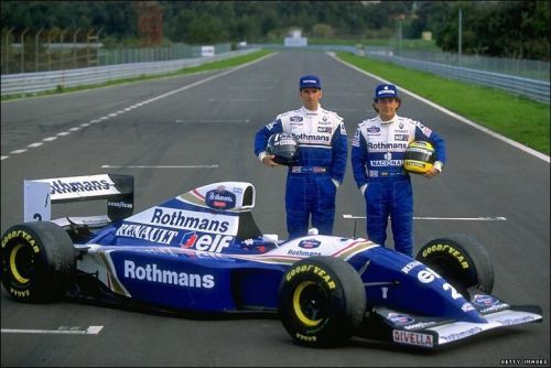 A proud and powerful line-up for Williams