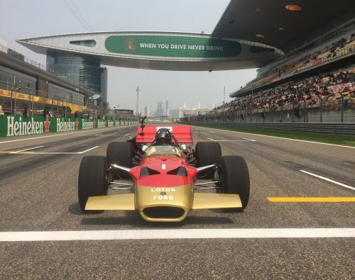 Hill takes paternal '49' for a spin in Shanghai