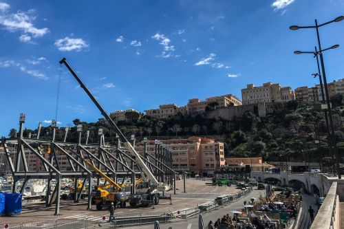 Monaco begins its annual transformation