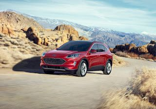 2020 Ford Escape Hybrid, consommation