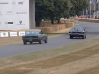A Goodwood, le remake de la course-poursuite de Bullitt