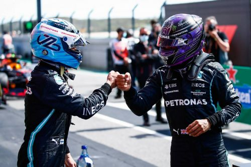 Hamilton has started 'positive' contract talks with Mercedes