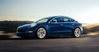 2018 Tesla Model 3 Long Range, plus sobre que la version 2017