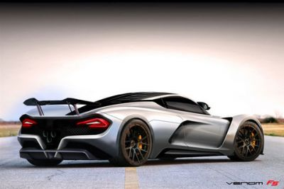 Hennessey Venom F5:  chasse aux records