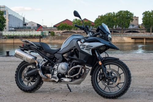 BMW F750GS:  la technologie s'invite à moto